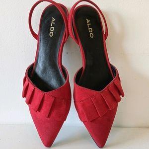 Aldo Red Flats